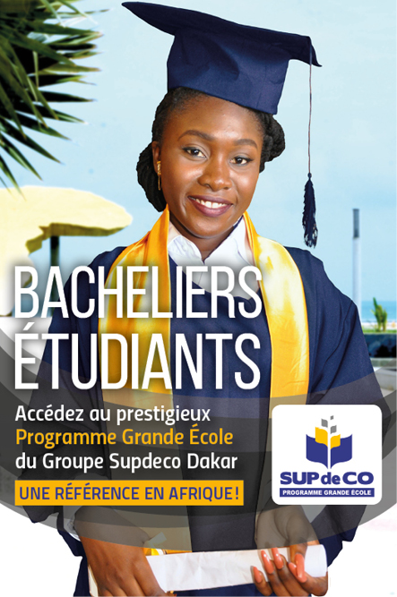 Actu : Join the prestigious Grande Ecole Programme Sup de Co Dakar, a reference in Africa!