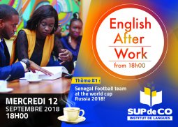 ENGLISH AFTER-WORK ! Your Talking Time !