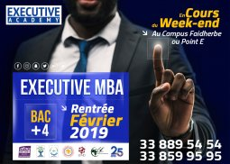 Intégrez le Master of Business Administration (EXECUTIVE MBA) - Les (...)