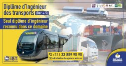 Diploma in Transport Engineering (Bac+5)