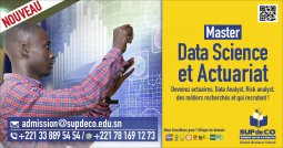 Master Data Science et Actuariat - Une formation d'exception dispensée (...)